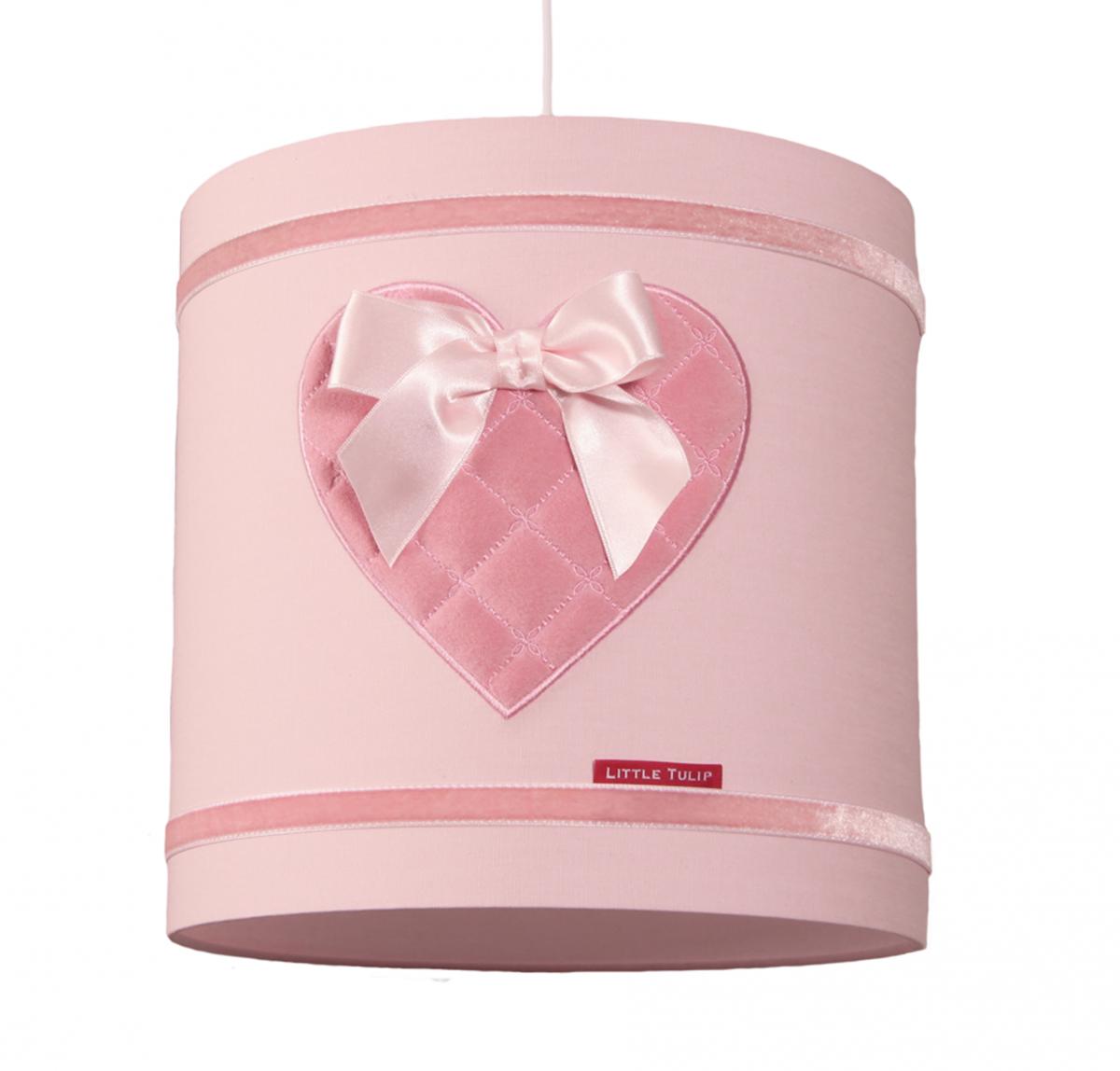 Little Tulip eco Hanglamp lamp roze hart luxe exclusief kinderkamer babykamer lamp  babyuitzet lief oudroze