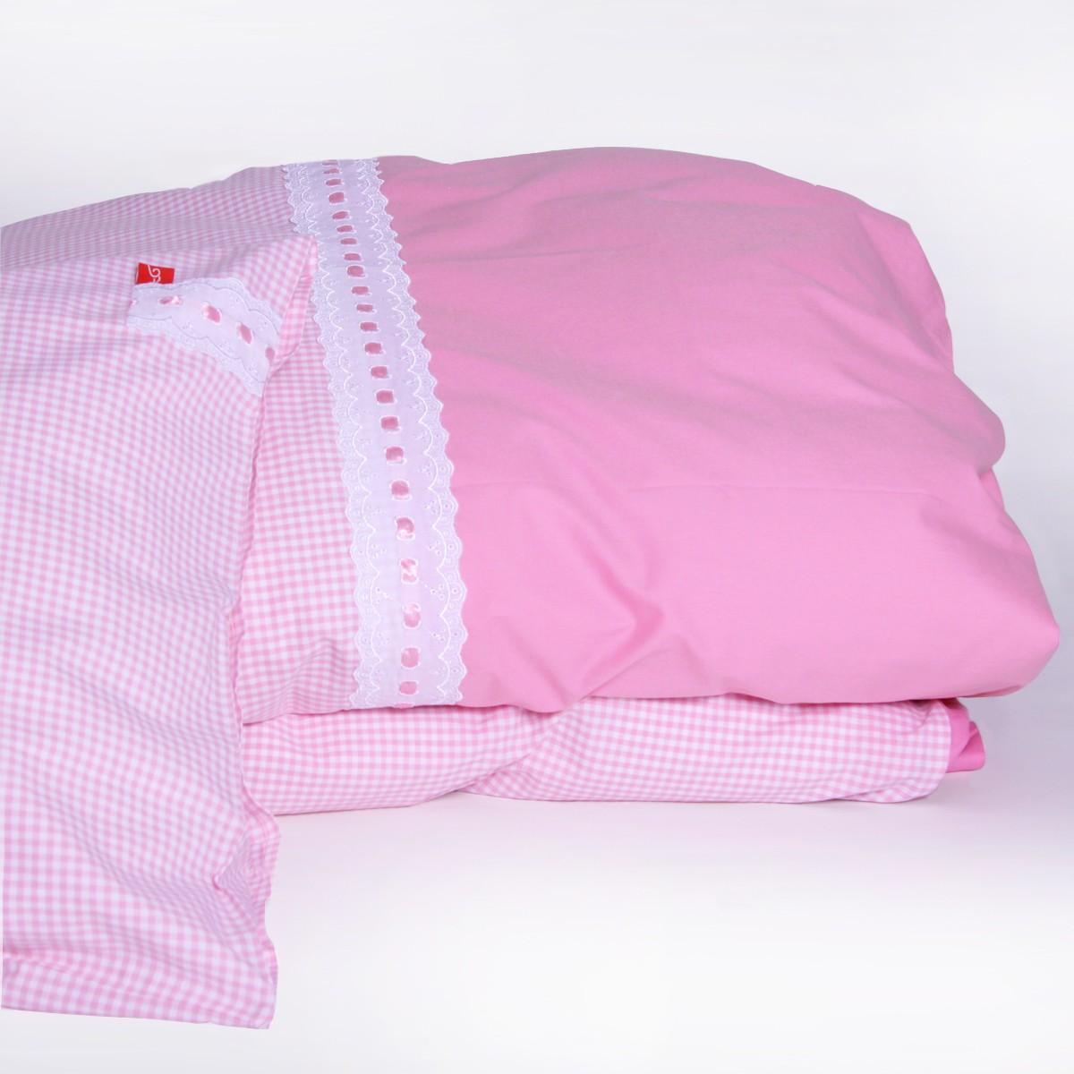 Dekbedovertrek romantic pink limited edition