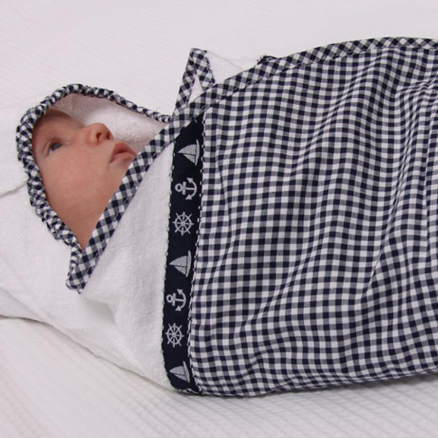 ... nautic boat ruitjes luxe zachte stof kinderkamer babykamer babyuitzet
