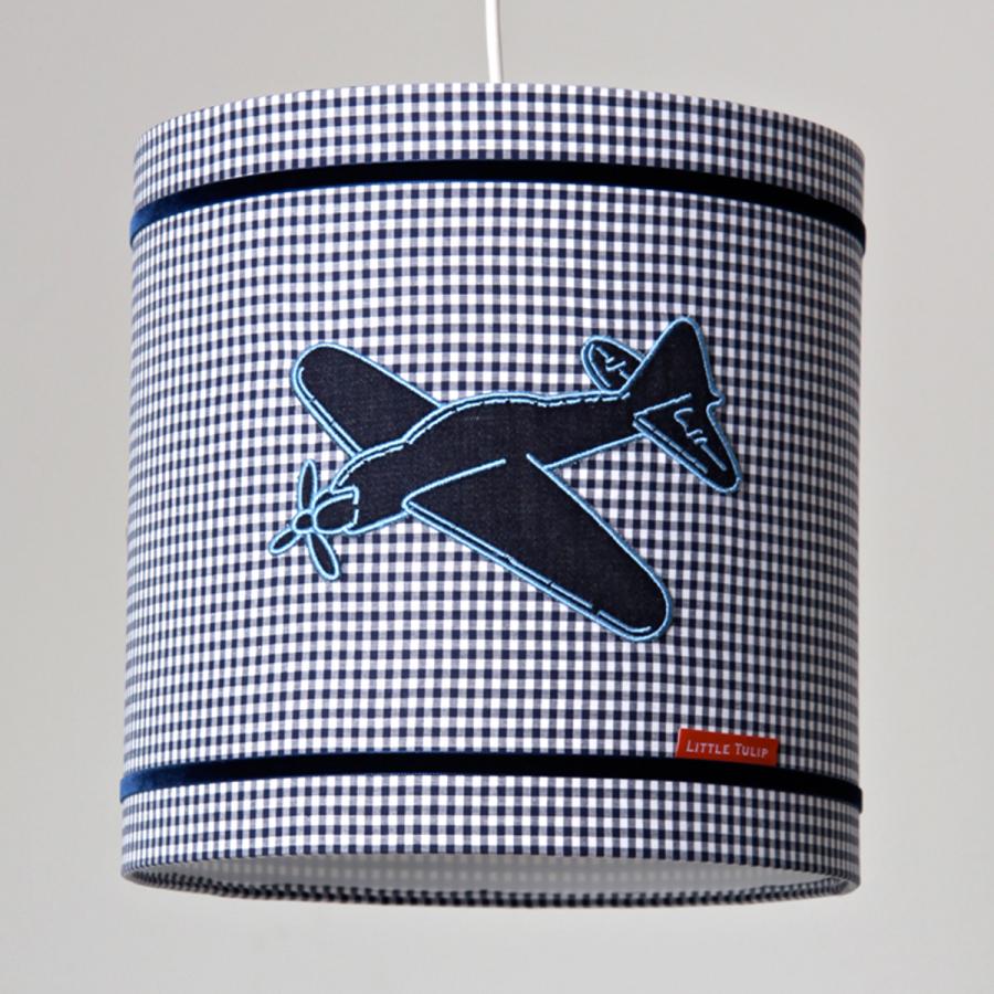 Little Tulip eco hanglamp blauw vliegtuig voertuigen plane ster bed ...