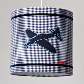 Little Tulip eco hanglamp blauw vliegtuig voertuigen plane ster bed blauw wit marine babykamer meisje jongen unisex babyuitzet kinderkamer steigerhout woonaccessoire accessoire