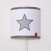 Wandlamp grijze ster
