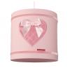 Hanglamp roze hart
