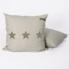 Loungekussen beige sterren