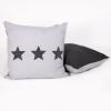 Loungekussen grijze sterren