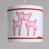 Hanglamp roze hertjes