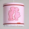 Hanglamp dutch roze