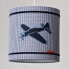 Hanglamp vliegtuig blauw