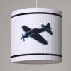 Hanglamp vliegtuig wit