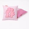 Knuffelkussen hollands duo roze