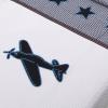 Dekbedovertrekset vliegtuig